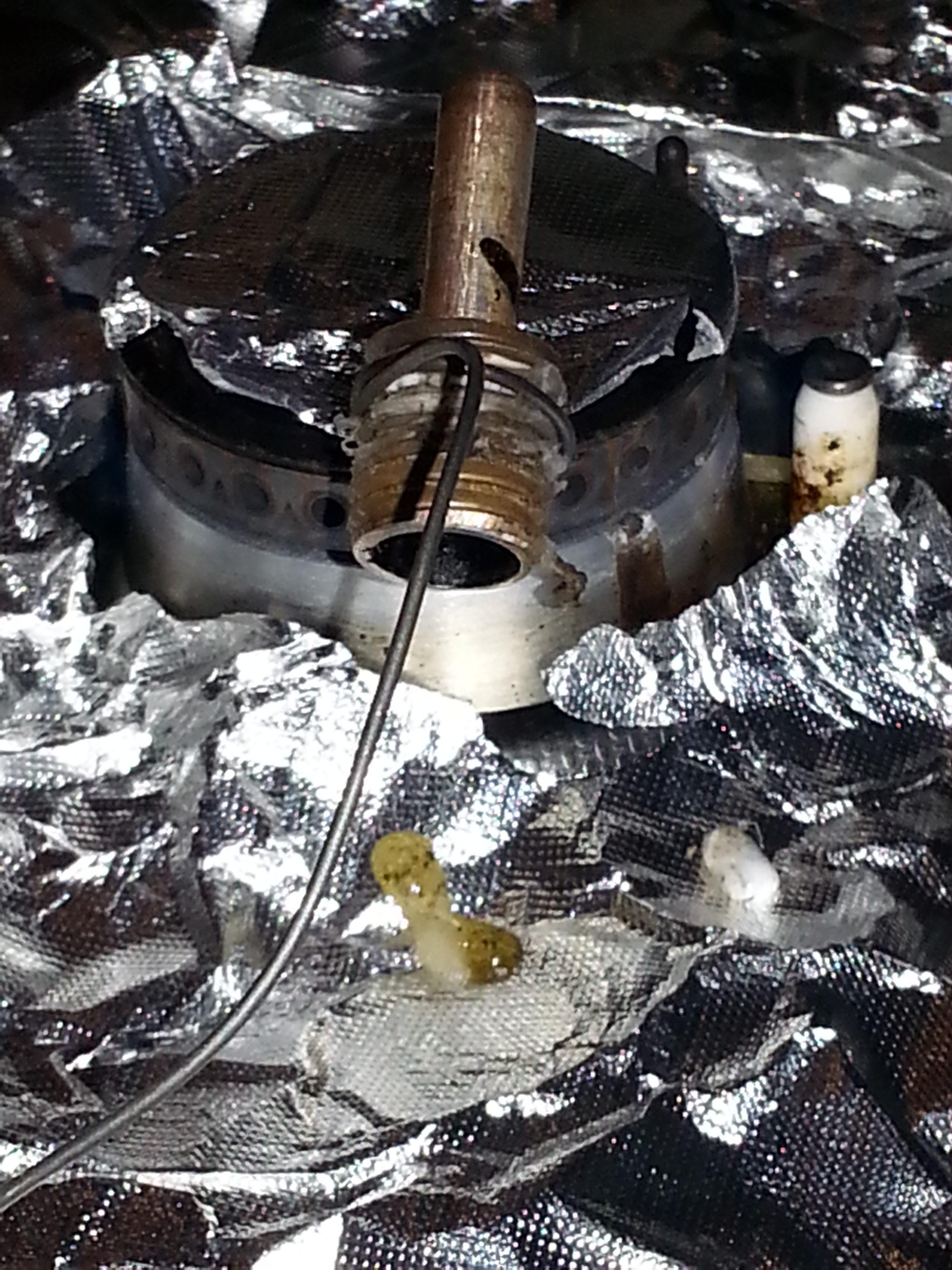 pulire il nozzle