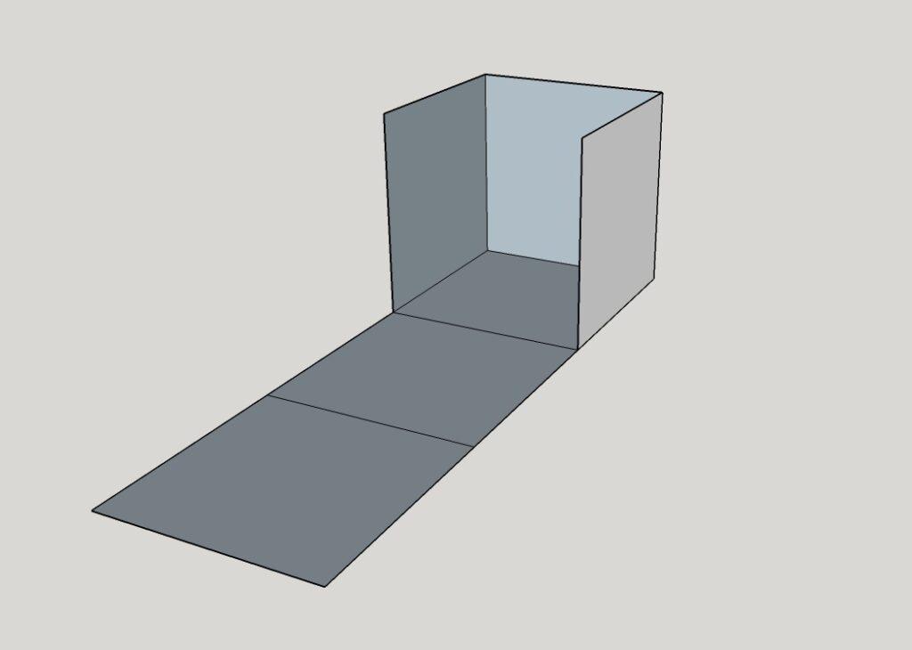 montaggio cubo